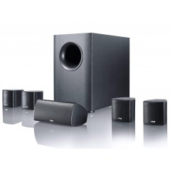 Home-Cinema-System with active subwoofer system MOVIE 75 BLACK